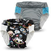 Kanga Care  Lil Learnerz Training Pants & Swim Diaper - tokiSPACE & PLATINUM 2 pack
