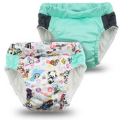 Kanga Care  Lil Learnerz Training Pants & Swim Diaper - tokiBAMBINO & SWEET 2 pack