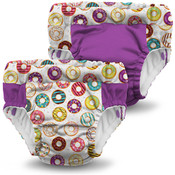 Kanga Care  Lil Learnerz Training Pants & Swim Diaper - FROSTED & ORCHID  2 pack