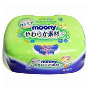 Moony Baby Wipes - Soft Type 80s (Box)