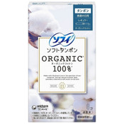 Sofy Japan 100% Organic Cotton Soft Tampon - Regular (8pcs)