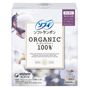 Sofy Japan 100% Organic Cotton Soft Tampon - Super Plus (21pcs)