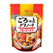Nissin Japan  Gorotto Premium Granola Colorful Fruit 400g (Best Before 2021.04)