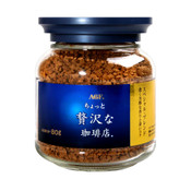 """AGF Japan Luxurious coffee shop ®"""" Special Blend - Blue Gold 80g ( Best Before 2024.04)"""