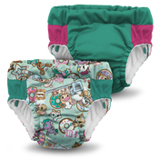 Kanga Care Lil  Learnerz Training Pants & Swim Diaper - tokiTreats 2 pack