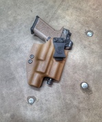 IWB for Poly80 with light and Threaded Barrel