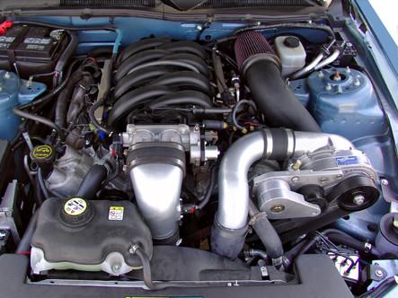 2005-2010 MUSTANG 4 6L 3V HO P1SC1 INTERCOOLED SYSTEM