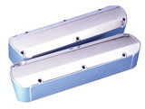 SB Ford Fabricated Aluminum Racing Valve Cover With Tall Bolts and Hole