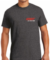 Herbert Cams T-Shirt Charcoal Grey / Front View