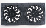 "DER16812  Shrouded 12"" Dual Fans"