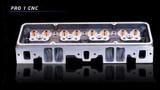 SBC Dart Pro 1 215cc/64cc Aluminum Cylinder Head Assembled Each