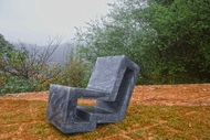 Contemporary Soapstone Chair