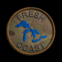 Fresh Coast Patch: MultiCam background