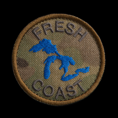 Fresh Coast Patch: MultiCam background