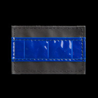 HiViz Camaraderie Identifier Patch: Thin Blue Line