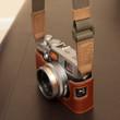 RF Camera Strap on a FujiFilm X100s