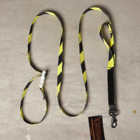 Alpha Dog Tactical Leash: Hazard Stripes