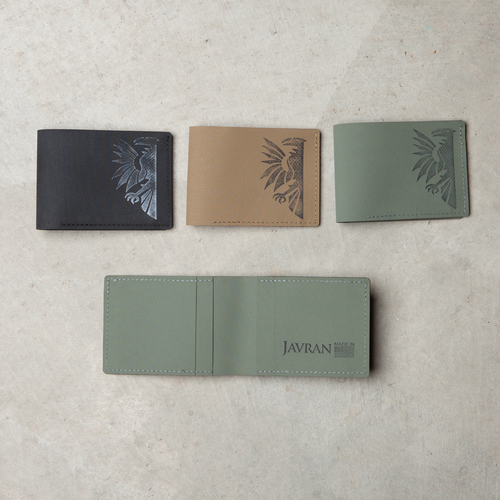Slim-Fold Wallet: Black, Coyote Brown, Foliage Green