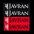 Javran stickers, black and red