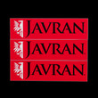 Javran stickers, red