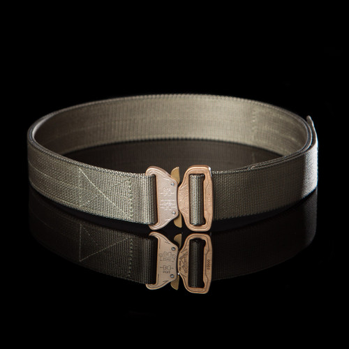 First-Line Cobra Belt, ranger green with coyote buckle