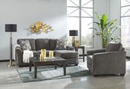 Brise Slate Sofa Chaise & Chair
