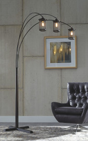 Maovesa Bronze Metal Arc Lamp (1/CN)