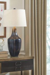Evania Indigo Metal Table Lamp (1/CN)