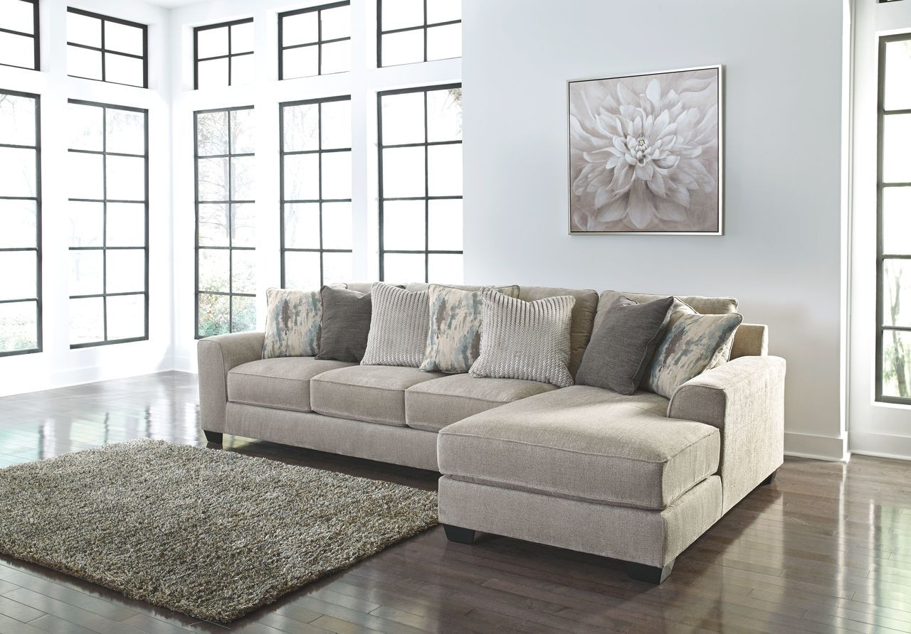 brand new 2e133 106bf Ardsley Pewter LAF Sofa & RAF Corner Chaise Sectional