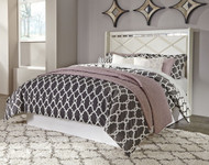Dreamur Queen Panel Headboard with Bolt on Metal Frame