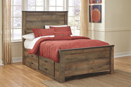 Trinell Full Storage Bed