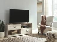Willowton Whitewash Large TV Stand