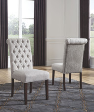 Adinton Reddish Brown Dining Upholstered Side Chair