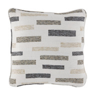 Crockett Black/Brown/Cream Pillow(4/CS)