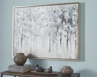 Breckin Blue/Gray/White Wall Art