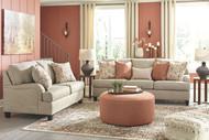 Almanza Wheat Sofa, Loveseat & Accent Ottoman