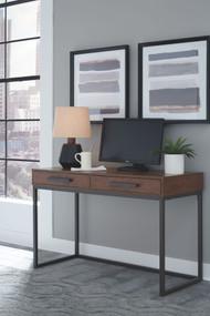 Horatio Dark Brown Home Office Small Desk