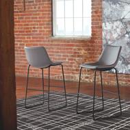 Centiar Gray Tall Upholstered Barstool