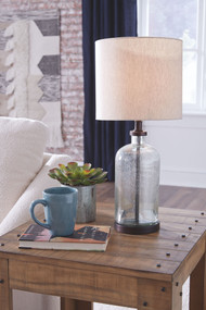 Bandile Clear/Bronze Finish Glass Table Lamp (1/CN)