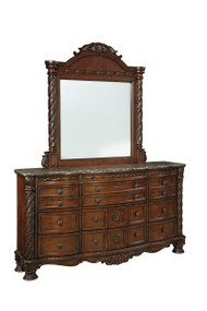 North Shore Dark Brown Dresser