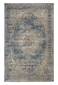 South Blue/Tan Medium Rug