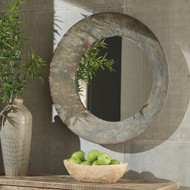 Carine Gray Accent Mirror