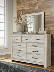 Bellaby Whitewash Dresser & Mirror