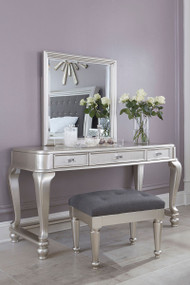 Coralayne Vanity, Mirror and Stool