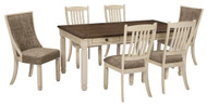 Bolanburg Antique White 7 Pc Rectangular Dining Set