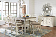 Bolanburg Antique White 8 Pc. Rectangular Counter Height Dining Set