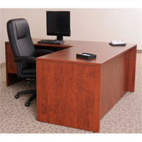 Express Laminate L-Shape Desk