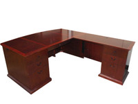 DMI Del Mar L Shape Desk