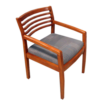 Indiana Cherry Frame Wood Guest Chair