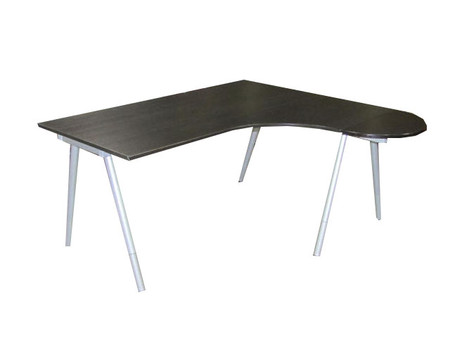 IKEA Galant Right Hand L-Shaped Desk with P Shaped End